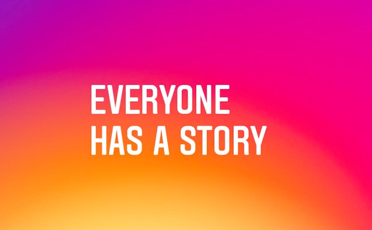 Everyone has a story (via: Instagram)
