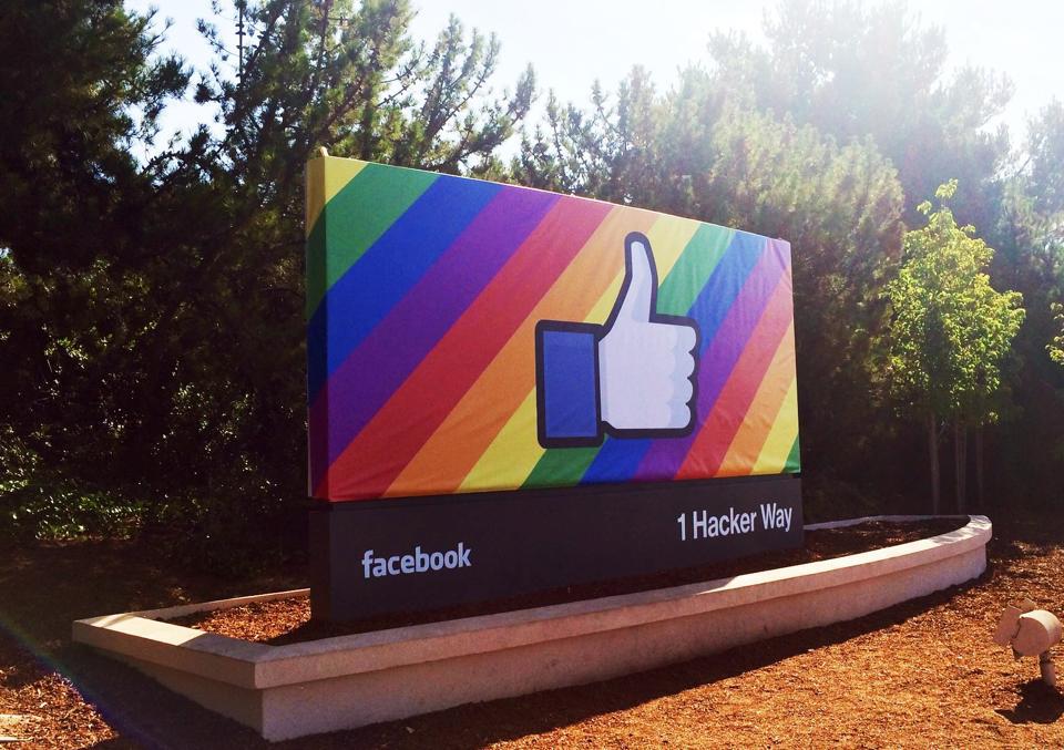facebook pride