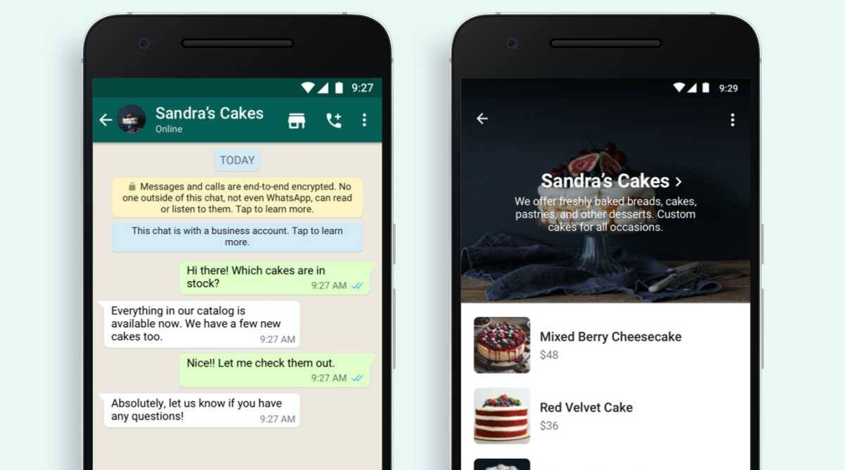 WhatsApp adds a Shopping Button